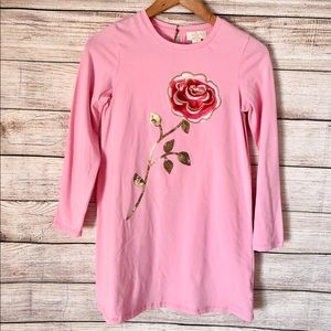 🎀 KATE SPADE Embroidered rose girls' Dress🎀